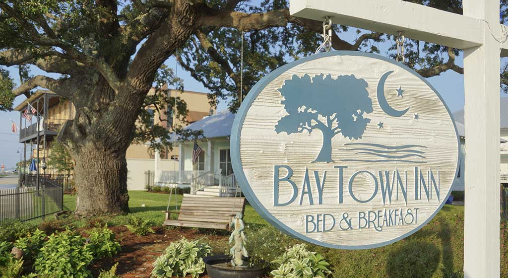 Bay Town Inn Bed And Breakfast Association Of Mississippi - Bays inn baytown